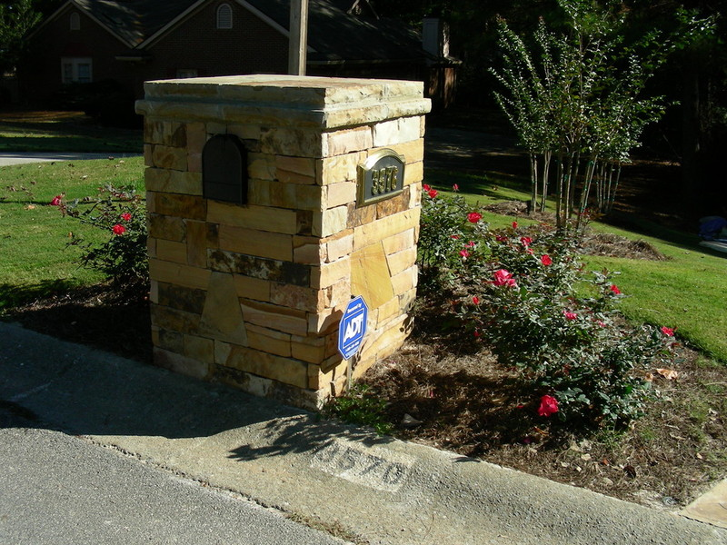 Landscaping Ideas Around Mailbox Astounding Gorgeous Garden